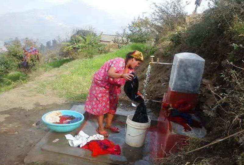 भैरवीको वाणगंगामा खानेपानी, स्थानीय खुसी