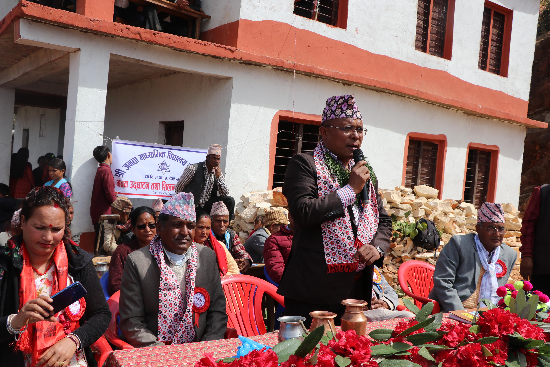 नागरिकको सहयोग विना विकास हुदैन : मन्त्री रावल