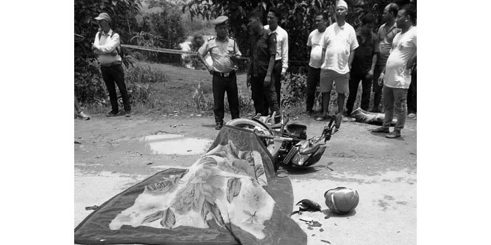 सुर्खेतमा टिपरको ठक्करबाट पत्रकार गेलाङको मृत्यु