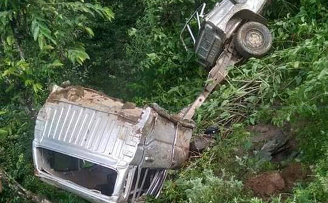 महावुमा जिप दुर्घटना ९ जना घाईते