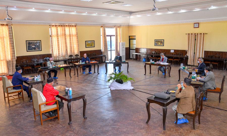 नेकपा सचिवालय बैठक सकियो, बैठक दश दिनपछि फरी बस्ने