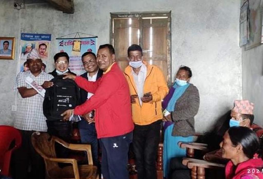 नेपाली यूवाका लागी स्वस्थ रुपान्तरण परियोजना सम्पन्न