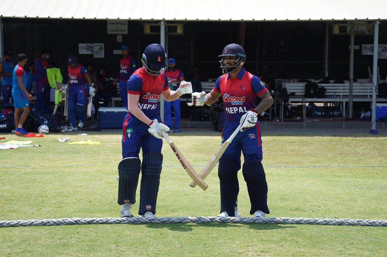दोस्रो मैत्रीपुर्ण क्रिकेटमा नेपाल बिजयी, पपुवा न्युगिनी १ सय ५१ रनले पराजित